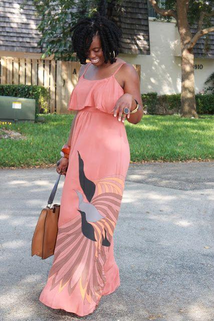 An amazing maxi dress