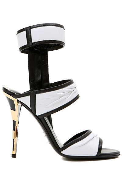 Ankle-high high heels