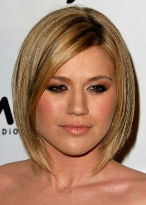 Asymmetrical bob /via