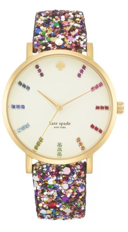 Bejeweled watch
