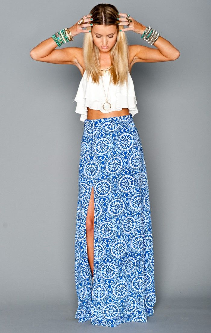 Blue and bohemian