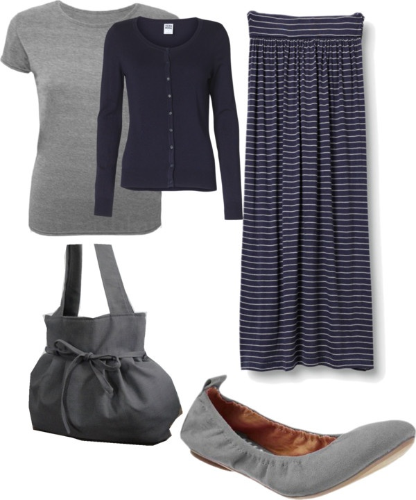 Blue and grey pieces