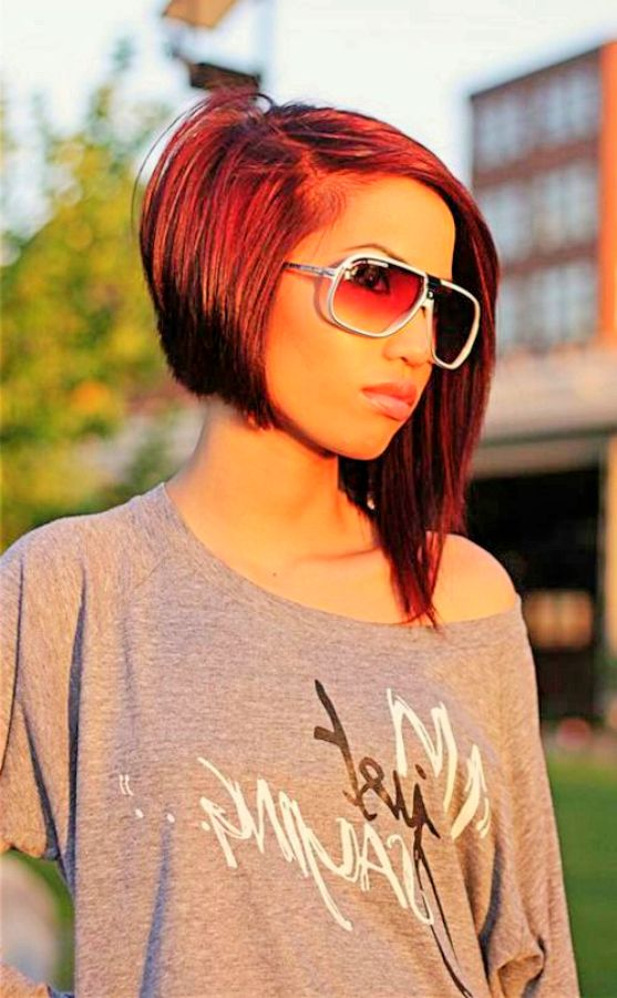 Astonishing 26 Cool Asymmetrical Bob Hairstyles Styles Weekly Hairstyle Inspiration Daily Dogsangcom