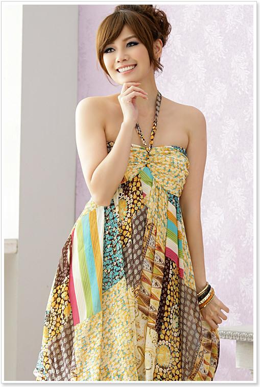 Boho-inspired dress