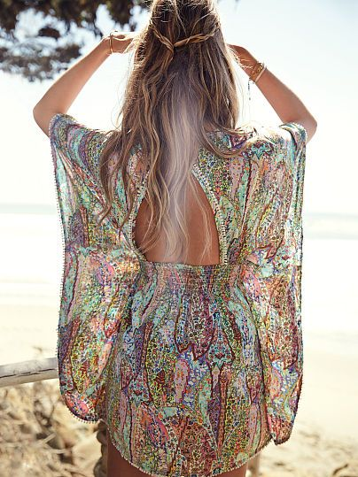 Boho-style cover up