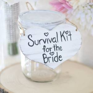 Bridal survival kit