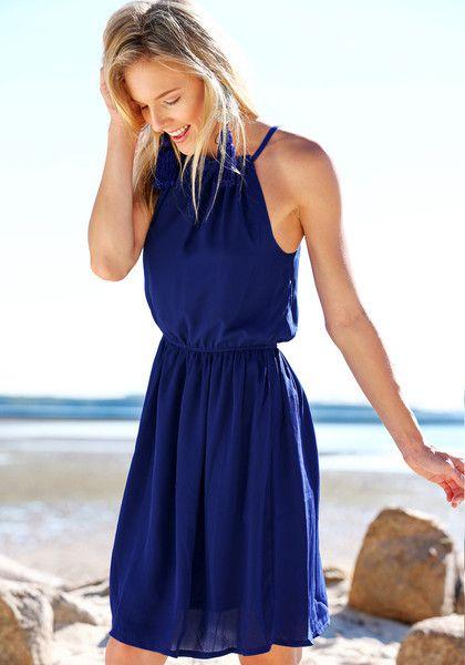 Classic blue sundress