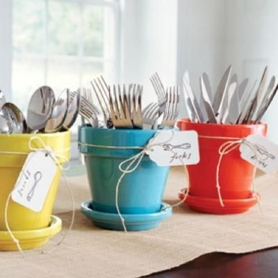 Creatively display your utensils