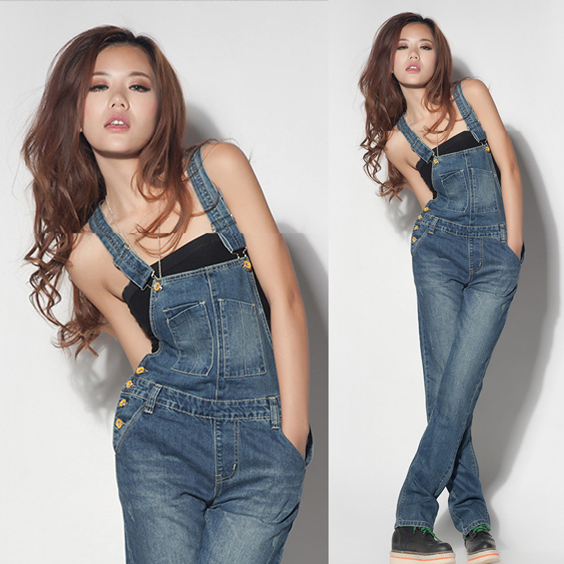 Denim overalls (pants)