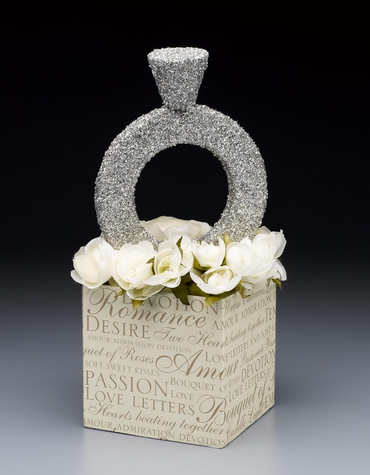 Diamond ring centerpiece