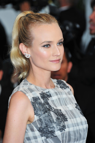 Diane Kruger's Tight Ponytail