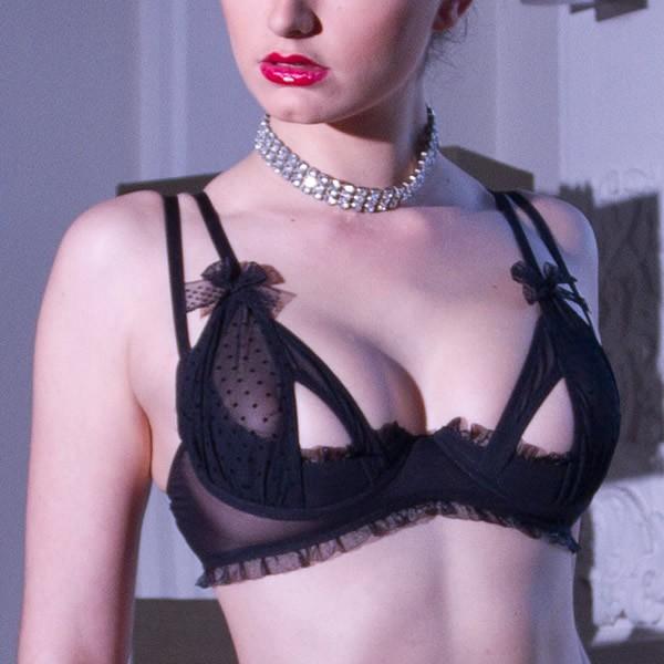 Double strap bra