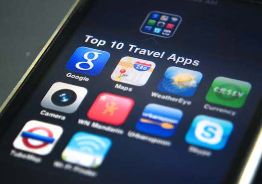 Download some travel apps