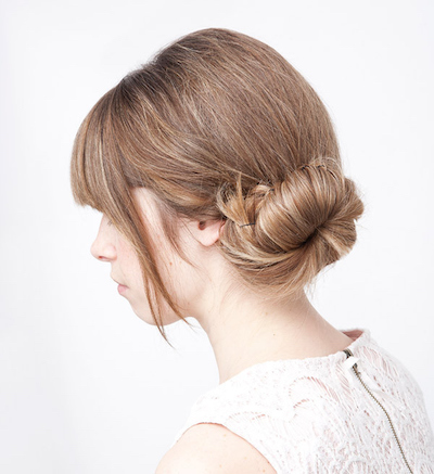 Elegant Pinned Bun