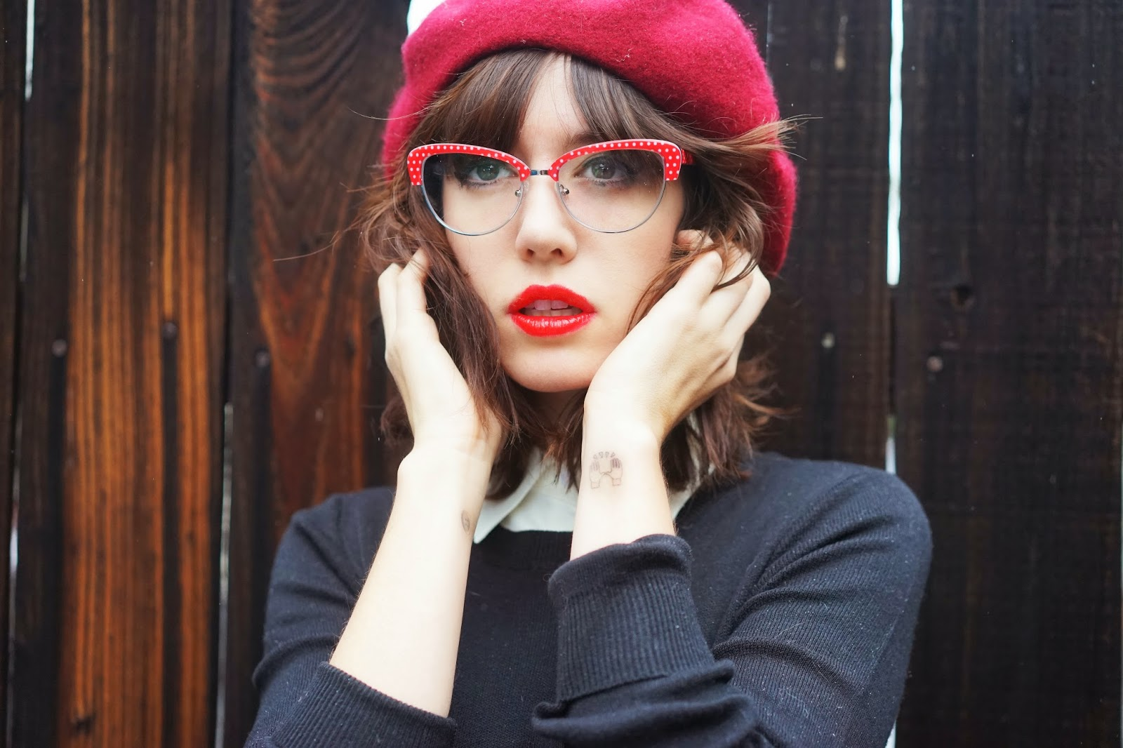 Eyewear in fun shapes and colors