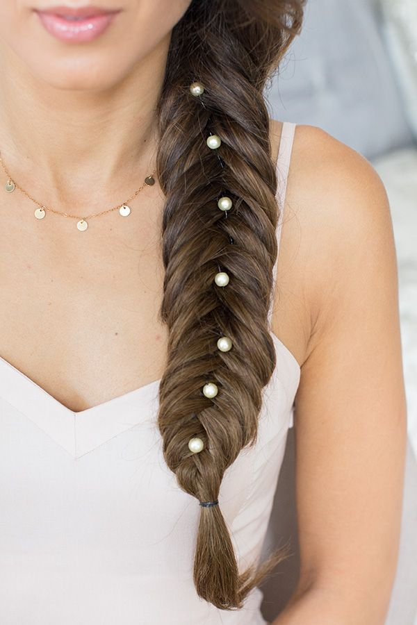 Fishtail and pearls