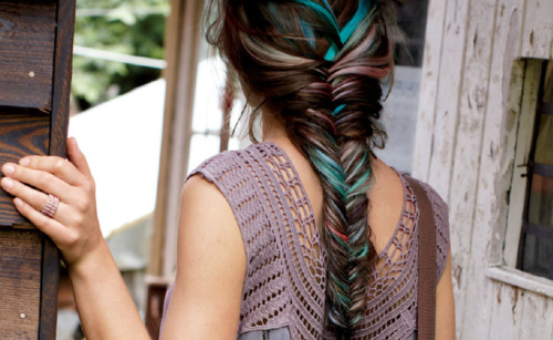 Fishtail with a touch of teal