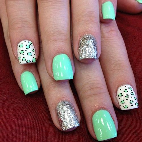 Fun with mint green