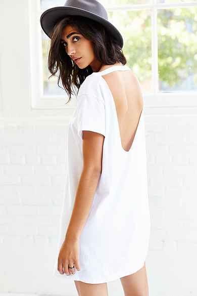 Get a T-shirt dress