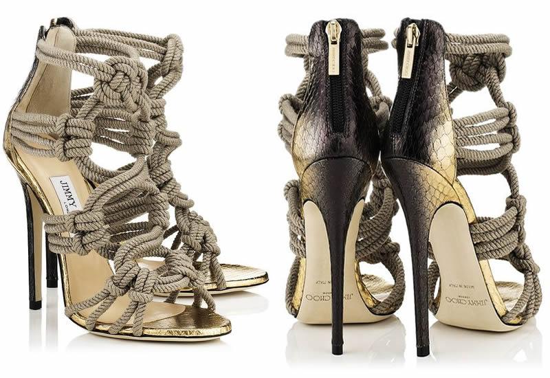 Grecian (rope) sandals