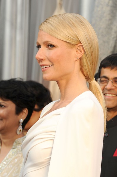 Gwyneth Paltrow's Graceful Ponytail