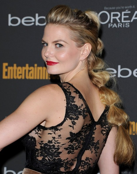 Jennifer Morrison's Chic Bubble Ponytail