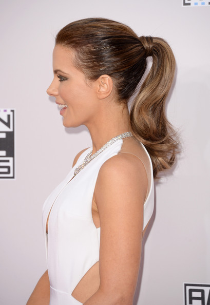 Kate Beckinsale's Lovely Ponytail