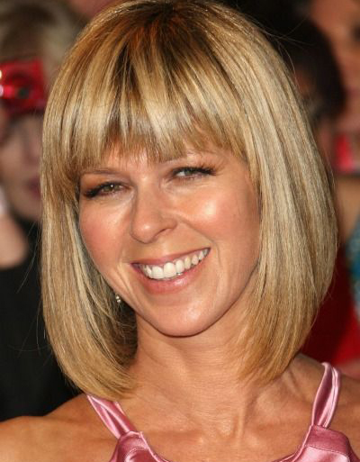 Kate Garraway Long Bob with Bang