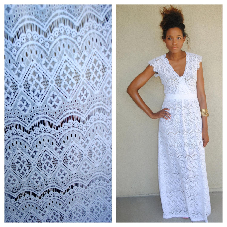 Lace Boho maxi dress
