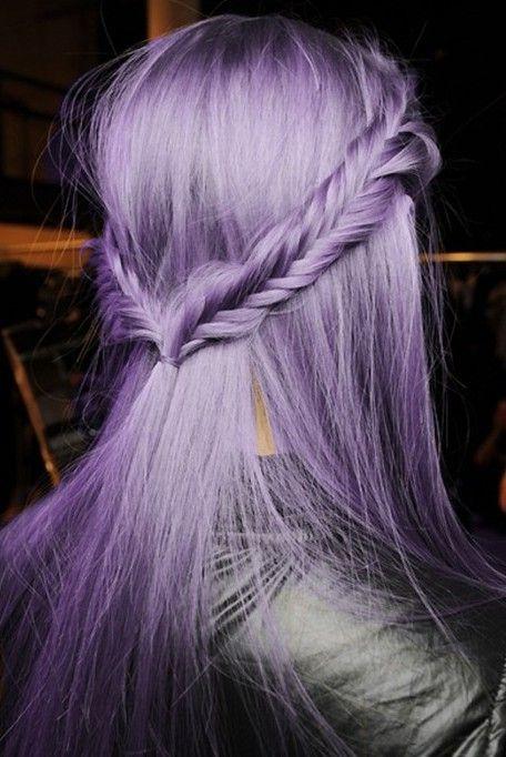 Lavender fishtails