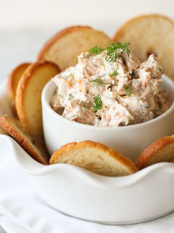 Make a bit of salmon dip