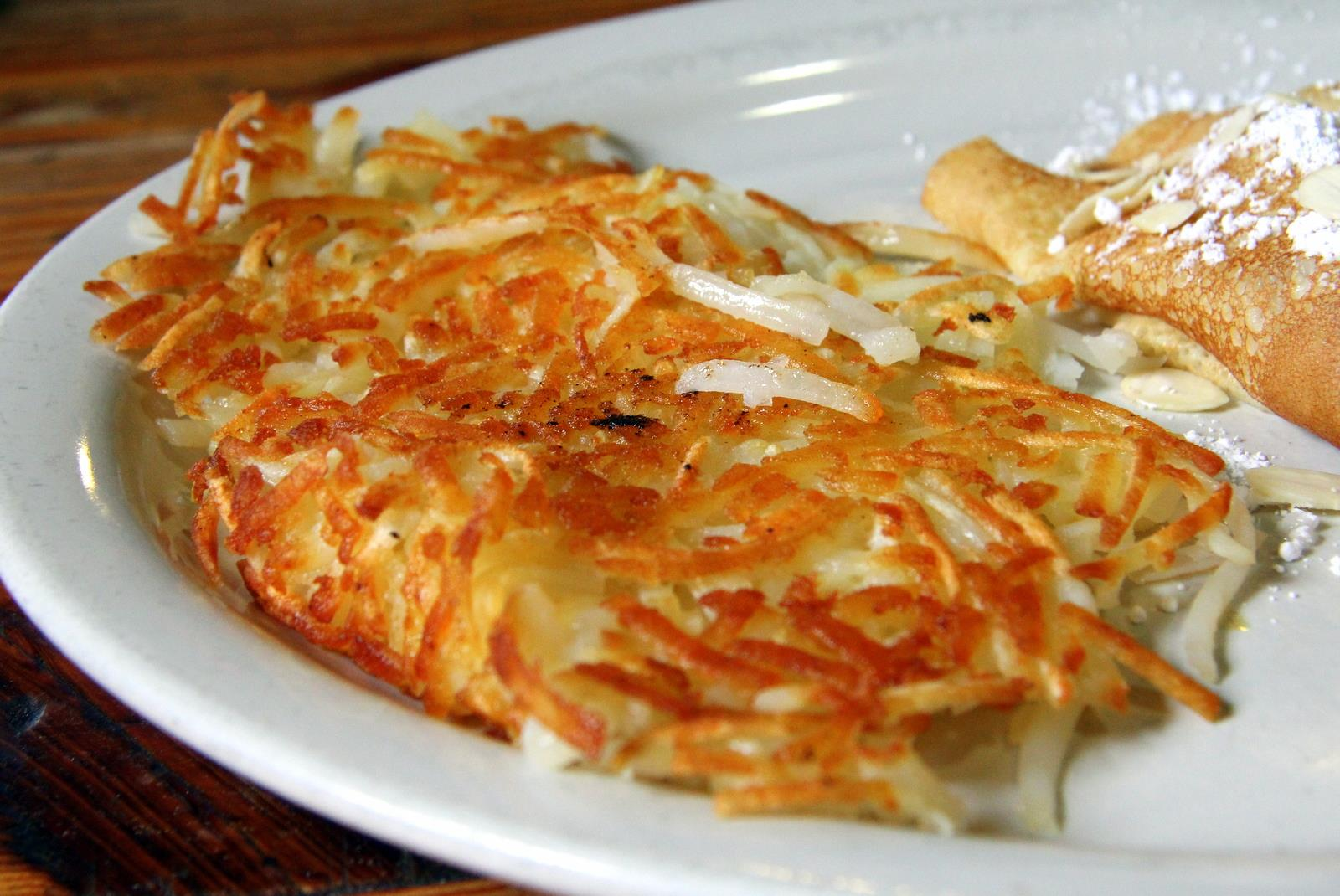 Make a few hash browns