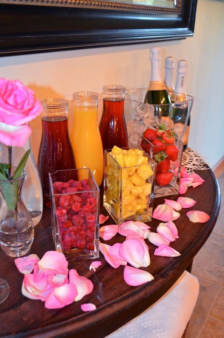 Make a mimosa bar