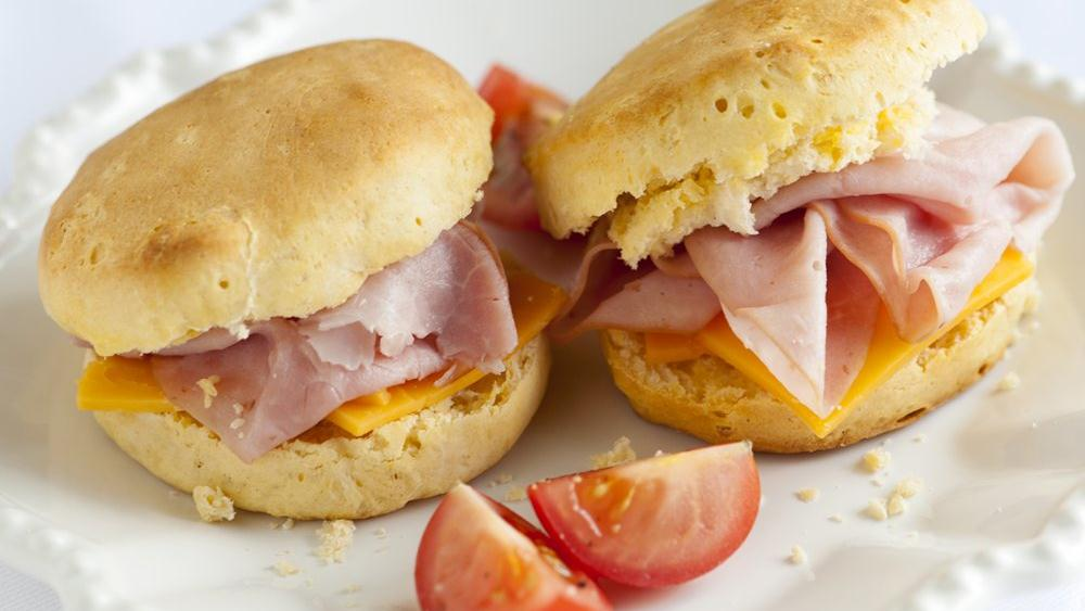 Make some biscuit sandwiches