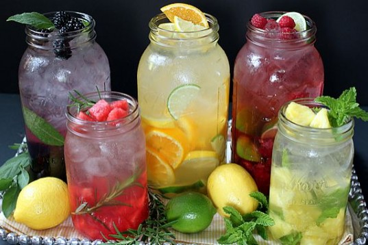 Make your own fruit tea