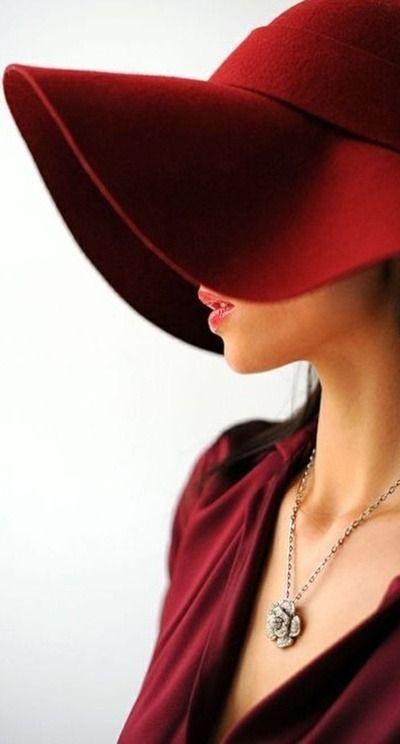 Marsala hat