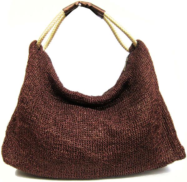 Mesh hobo purse