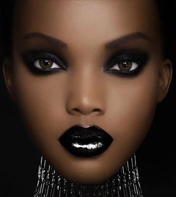 Noir lips