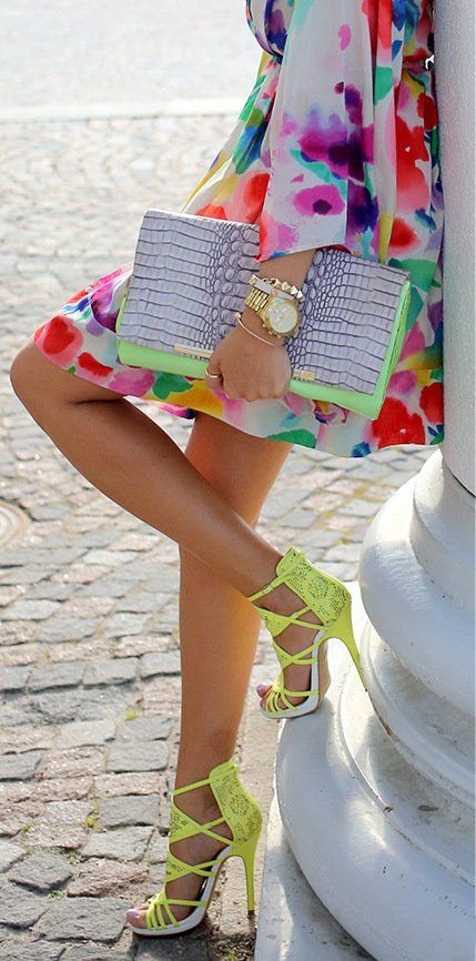 Oh so colorful!