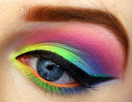 'Peacock' eyes