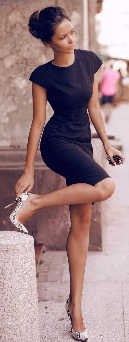 Perfect black dress