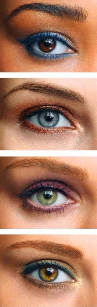 Play with colorful eyeliner