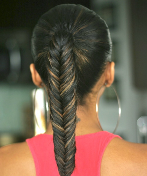 Ponytail fishtail