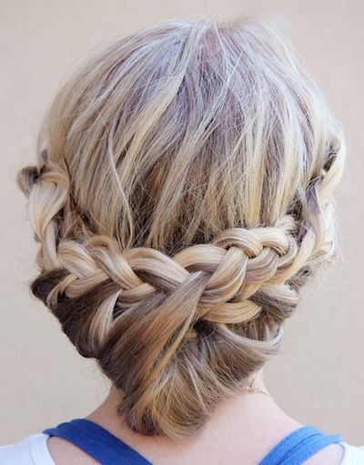 Princess Braid Updo