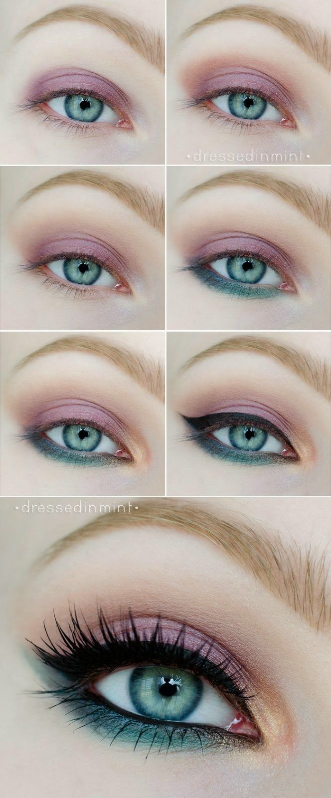 26 Easy Makeup Tutorials For Blue Eyes Styles Weekly
