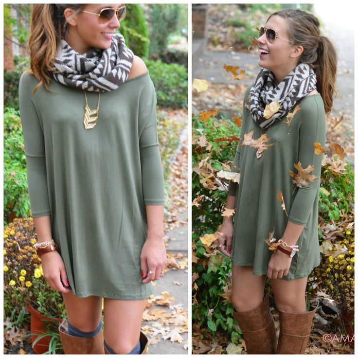 Quarter-sleeve T-shirt dress