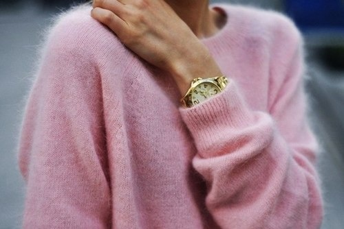 Rose cashmere