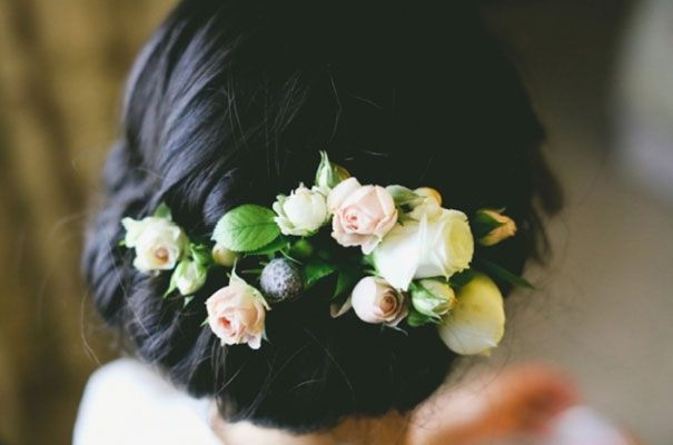 Roses for an updo