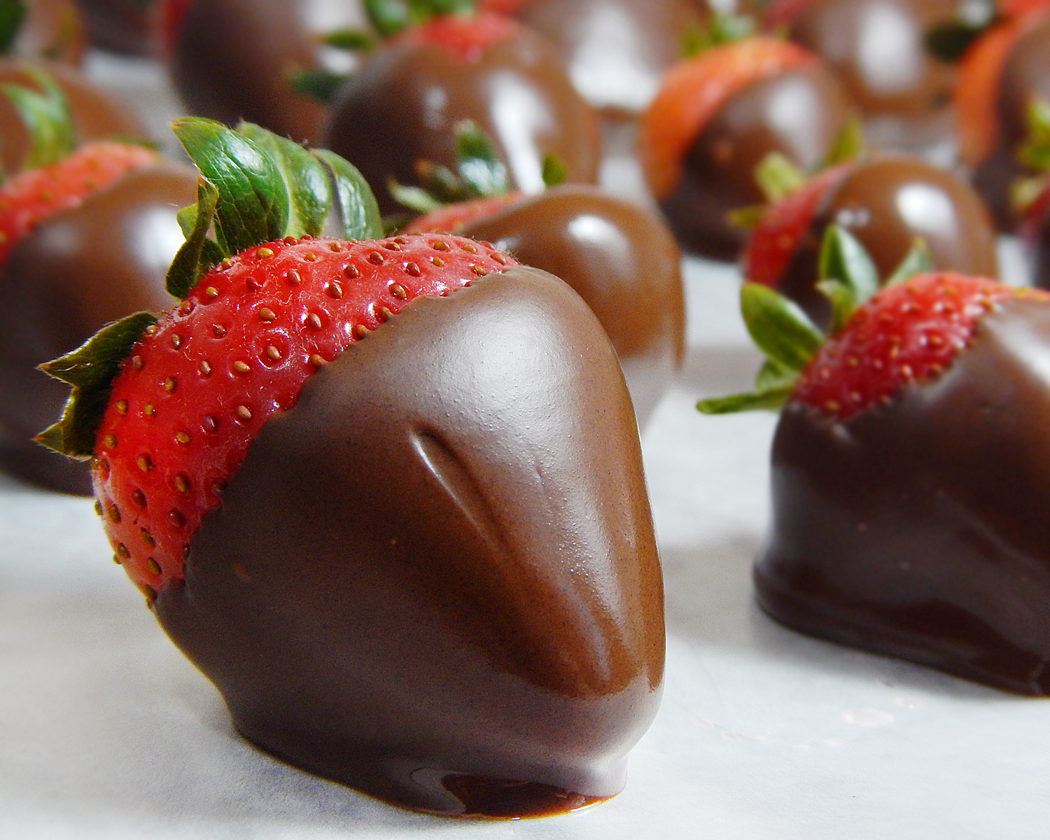 Serve up some chocolate-covered strawberries