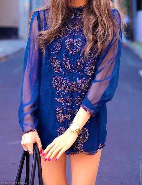 Sheer Boho dress